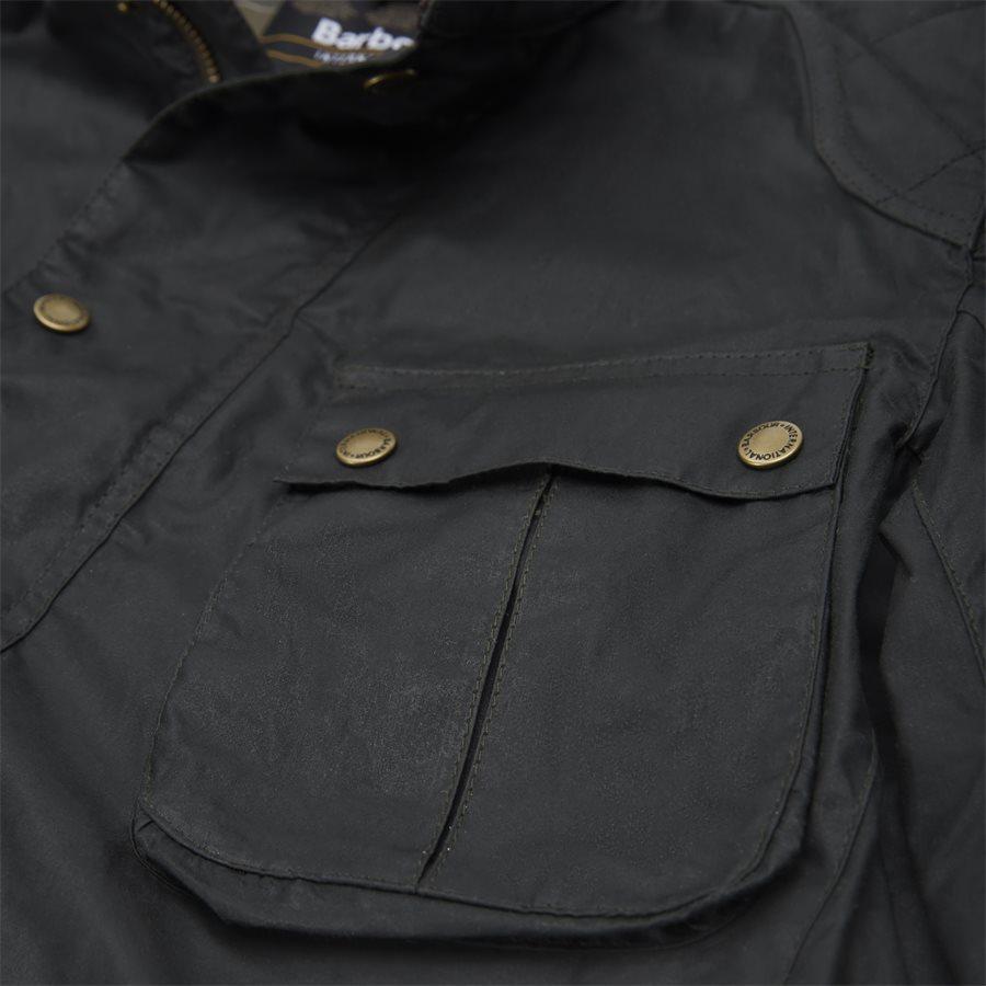 LOCKSEAM WAX JACKET - Locksean Wax Jacket - Jakker - Regular - KOKS - 10