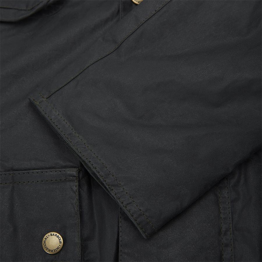 LOCKSEAM WAX JACKET - Locksean Wax Jacket - Jakker - Regular - KOKS - 11