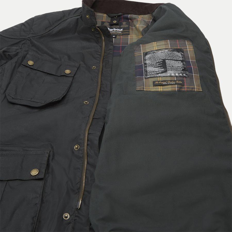 LOCKSEAM WAX JACKET - Locksean Wax Jacket - Jakker - Regular - KOKS - 13