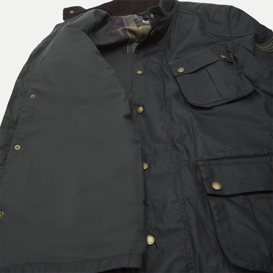 LOCKSEAM WAX JACKET - Locksean Wax Jacket - Jakker - Regular - KOKS - 14