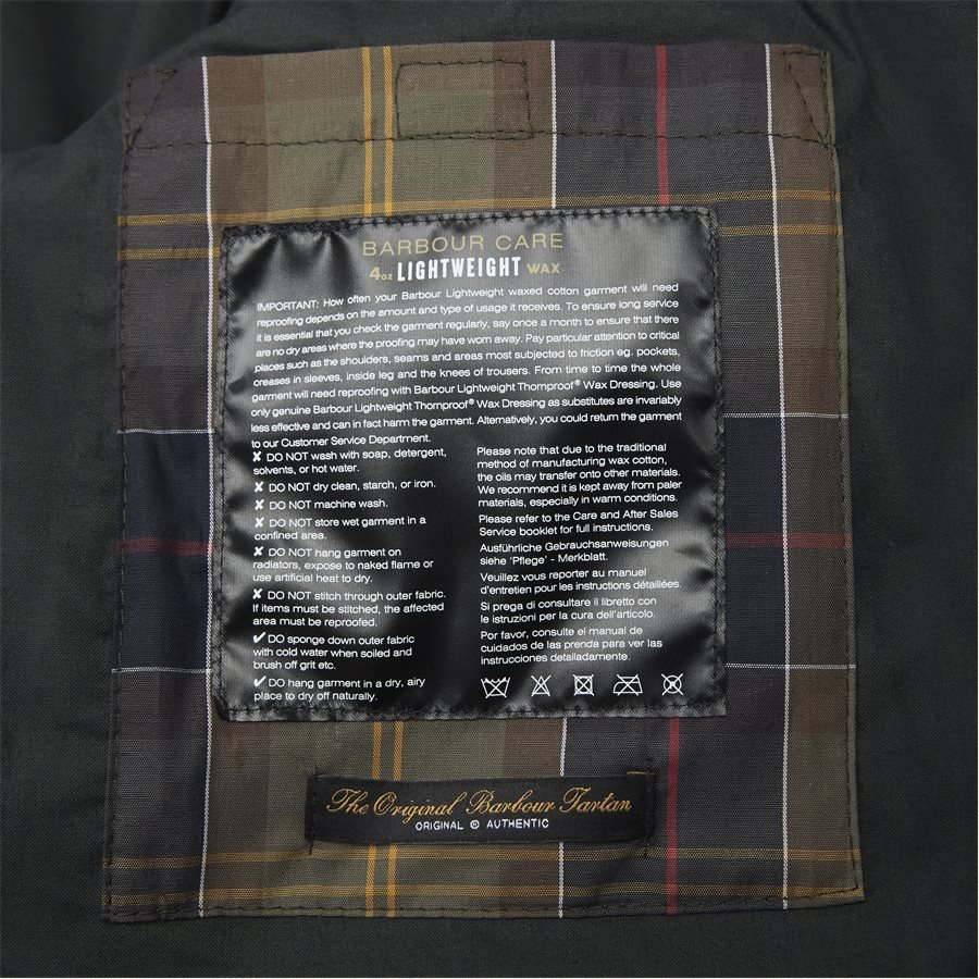 LOCKSEAM WAX JACKET - Locksean Wax Jacket - Jakker - Regular - KOKS - 15