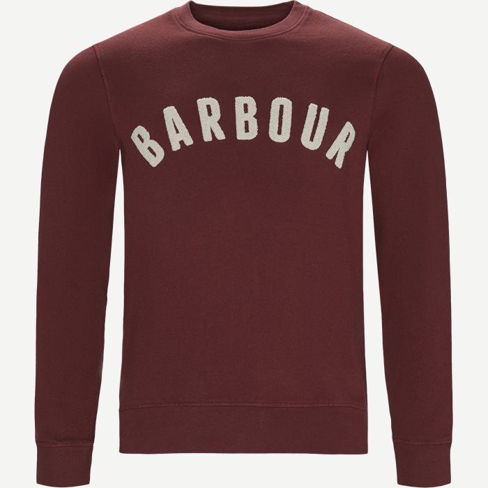 Prep Logo Sweatshirt - Sweatshirts - Regular - Bordeaux