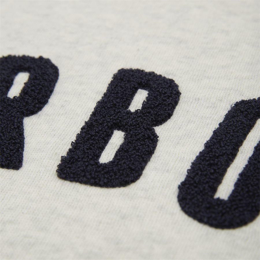 PREP LOGO - Prep Logo Sweatshirt - Sweatshirts - Regular - ECRU - 5