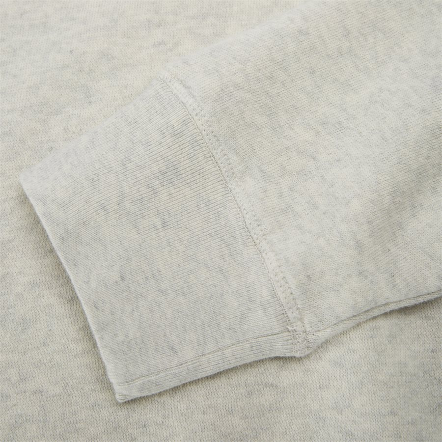 PREP LOGO - Prep Logo Sweatshirt - Sweatshirts - Regular - ECRU - 6