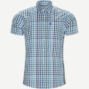 Tattersall6 Short Sleeve Shirt Tailored fit   Tattersall6 Short Sleeve Shirt   Grøn
