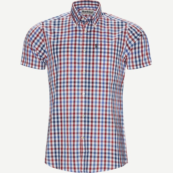 Tattersall6 Short Sleeve Shirt - Kortærmede skjorter - Tailored fit - Rød