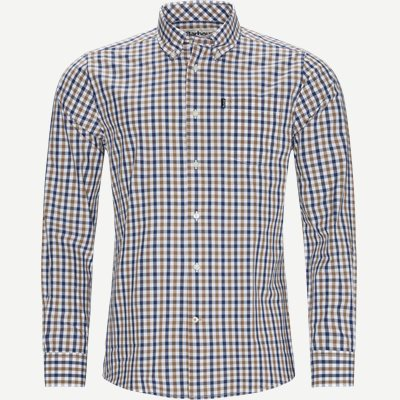 Gingham4 Shirt Tailored fit | Gingham4 Shirt | Sand