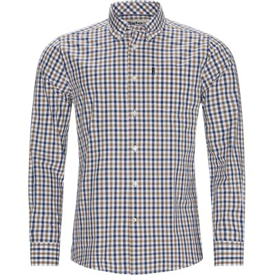 Gingham4 Shirt Tailored fit   Gingham4 Shirt   Sand