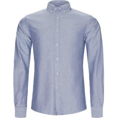 Oxford3 Skjorte Tailored fit   Oxford3 Skjorte   Blå