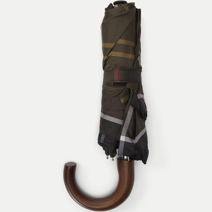 TARTAN MINI UMBRELLA - Tartan Mini Umbrella - Accessories - SORT - 2