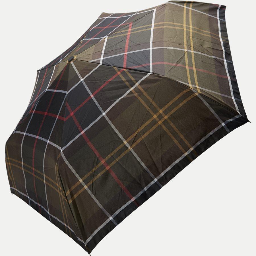 TARTAN MINI UMBRELLA - Tartan Mini Umbrella - Accessories - SORT - 4