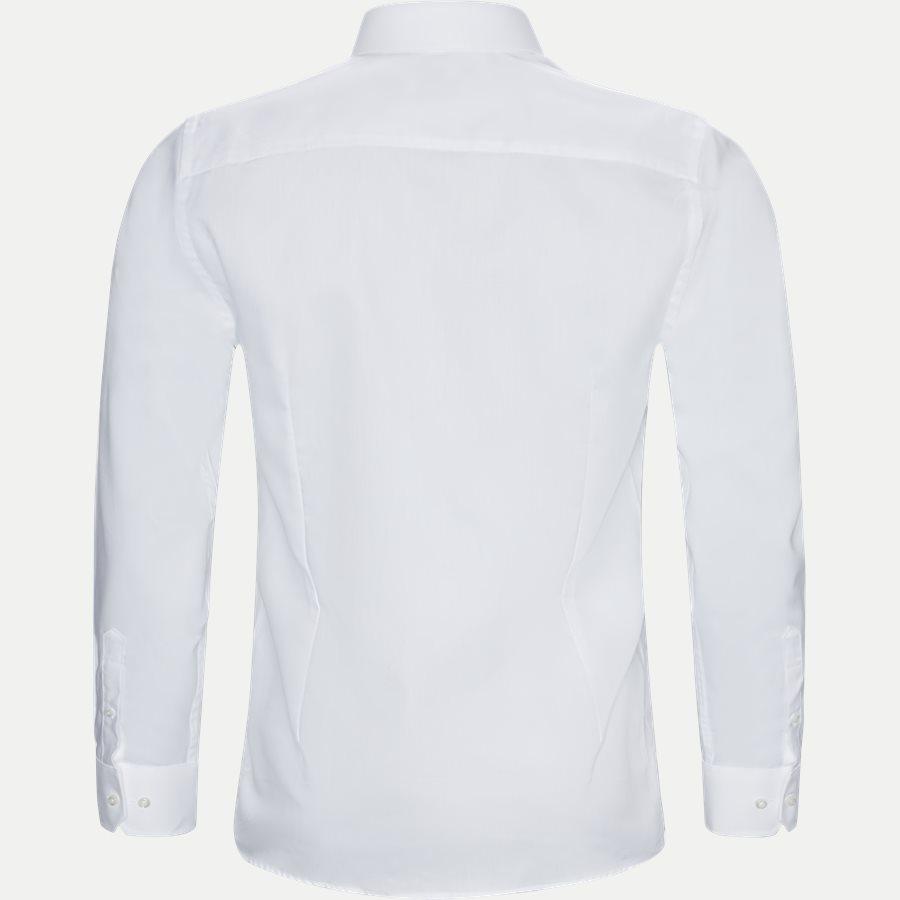BRUNINHO - Shirts - Slim - HVID - 2