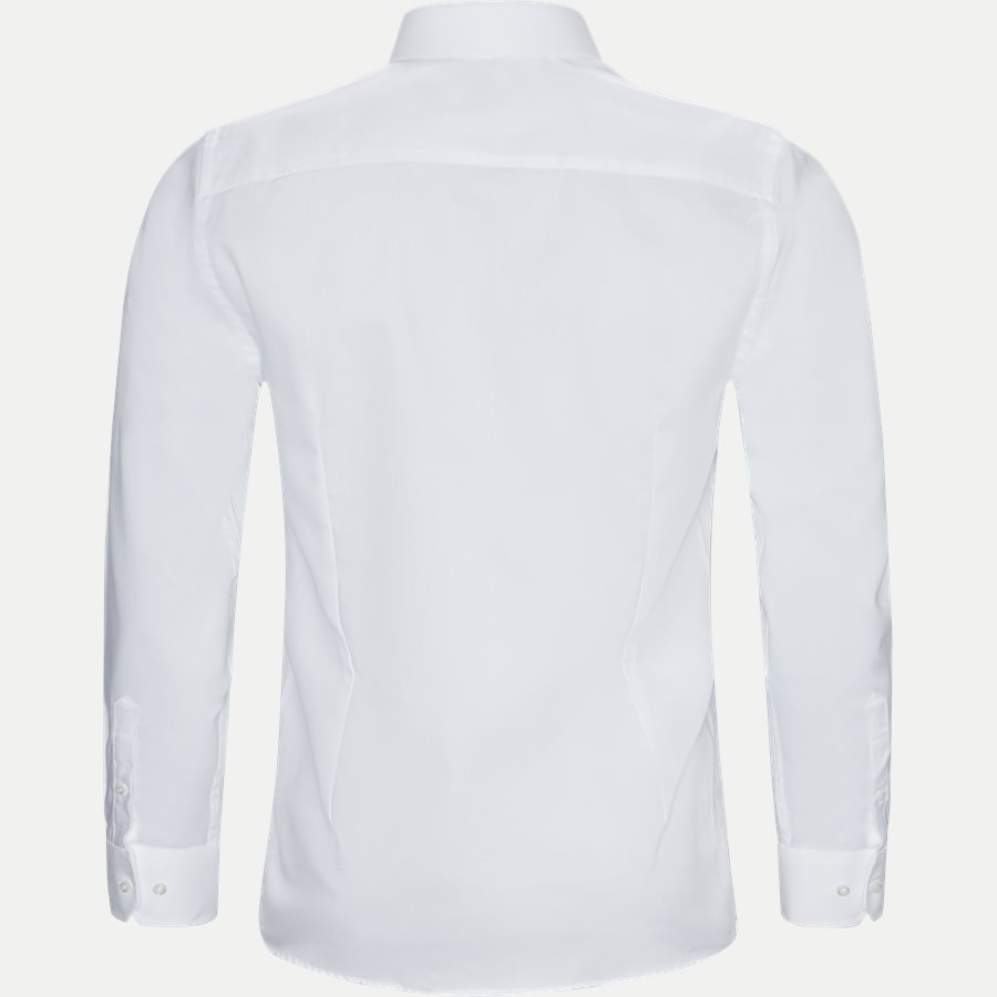 BRUNINHO - Bruninho Skjorte - Skjorter - Slim - HVID - 2