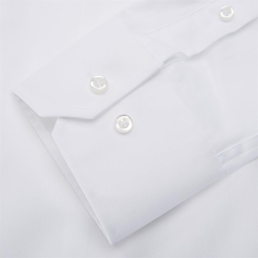 BRUNINHO - Shirts - Slim - HVID - 5