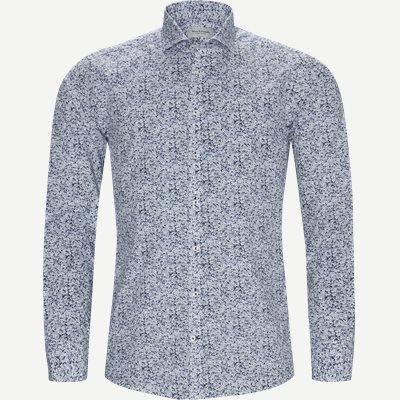 Isamu Skjorte Slim | Isamu Skjorte | Blå