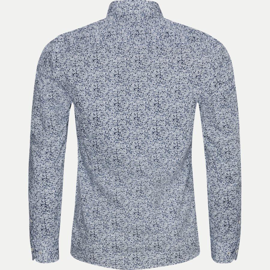 ISAMU - Isamu Skjorte - Skjorter - Slim - BLÅ - 2