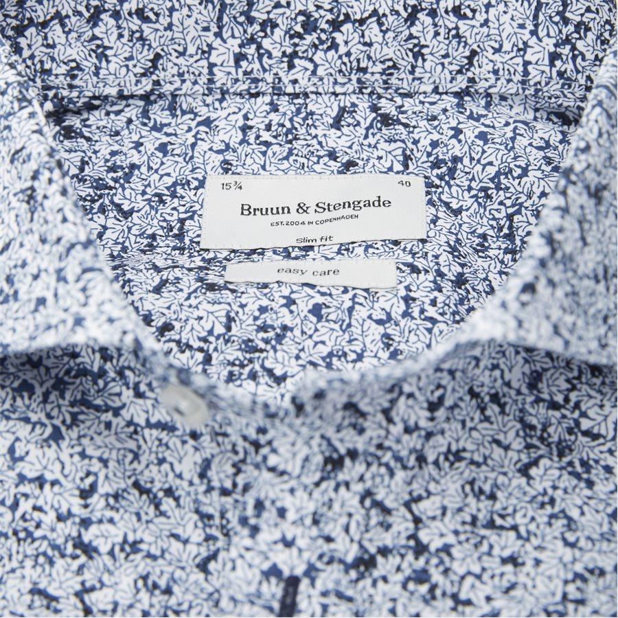 ISAMU - Isamu Skjorte - Skjorter - Slim - BLÅ - 3