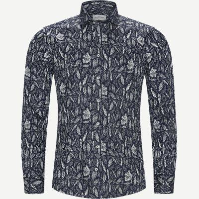 Slim   Hemden   Blau