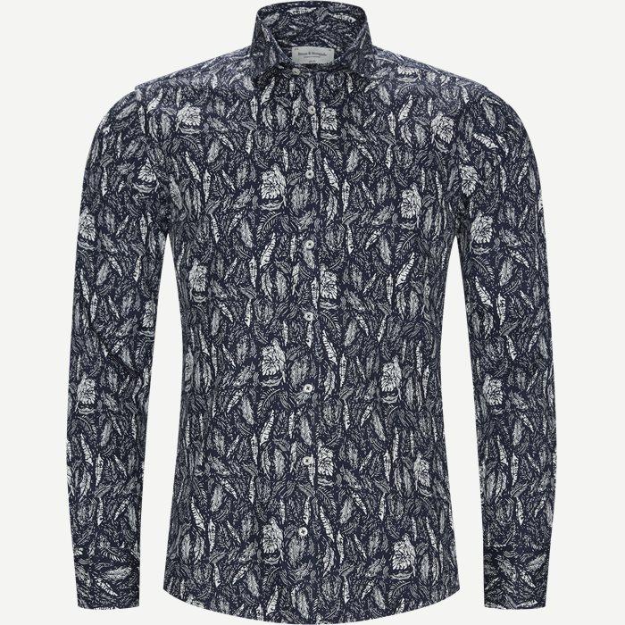 Skjortor - Slim - Blå