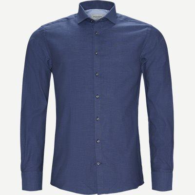 Rohe Skjorte Slim | Rohe Skjorte | Blå