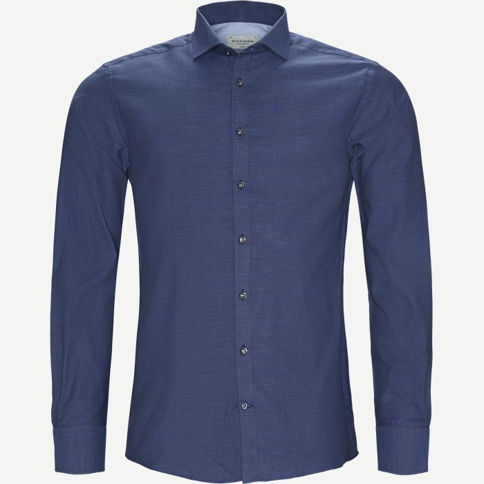 Rohe Skjorte - Skjorter - Slim - Blå