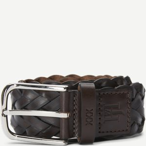 Braided Leather Belt Braided Leather Belt | Brun