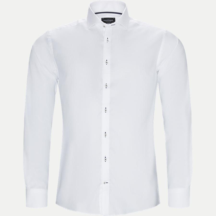 RICCI - Ricci Skjorte - Skjorter - Modern fit - HVID - 1