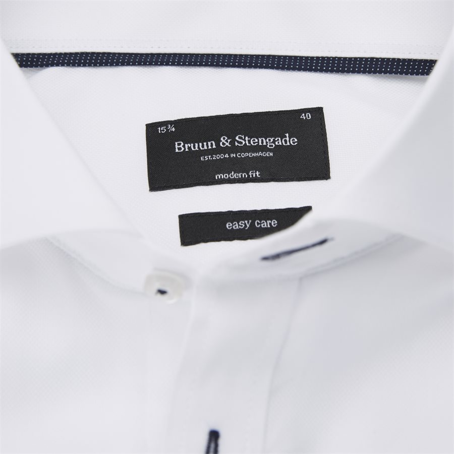 RICCI - Ricci Skjorte - Skjorter - Modern fit - HVID - 3