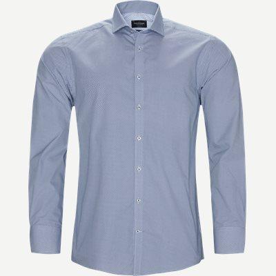 Banega Skjorte Modern fit | Banega Skjorte | Blå