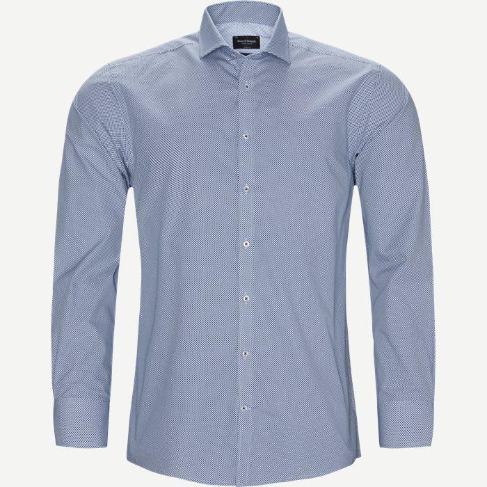 Banega Skjorte - Skjorter - Modern fit - Blå