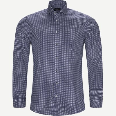Bendtner Skjorte Modern fit | Bendtner Skjorte | Blå