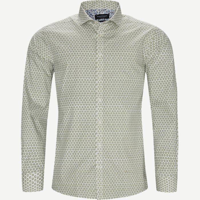 Skjortor - Modern fit - Armé