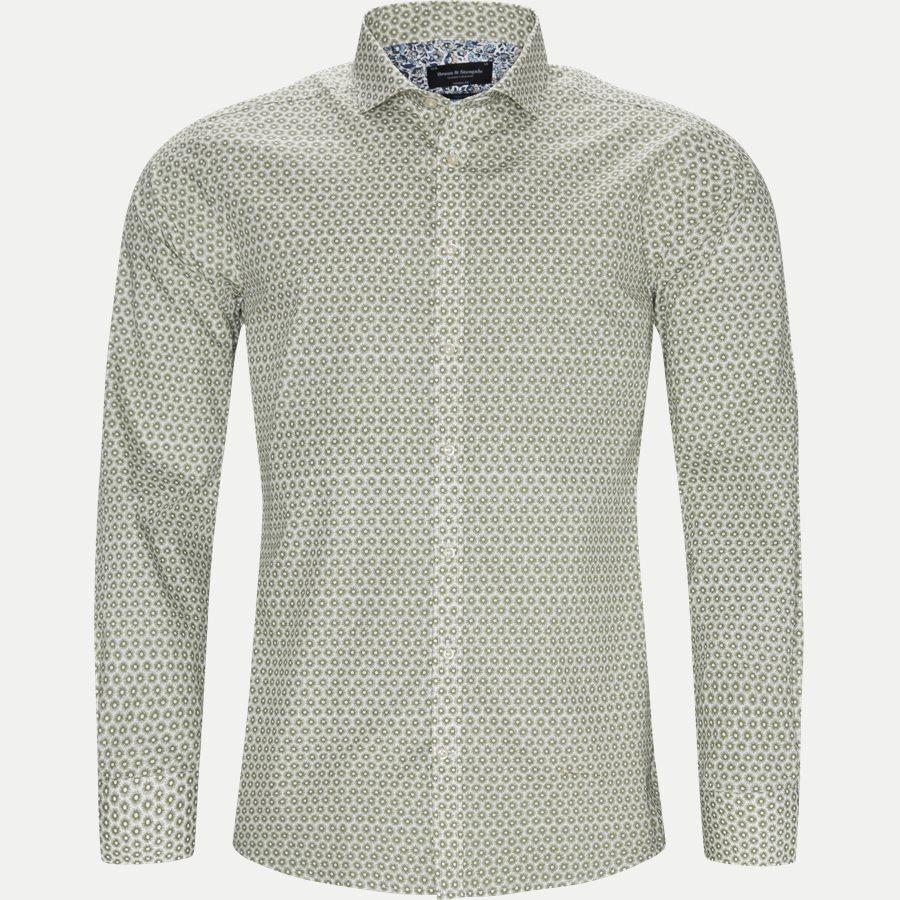 GIROUD - Giroud Skjorte - Skjorter - Modern fit - ARMY - 1
