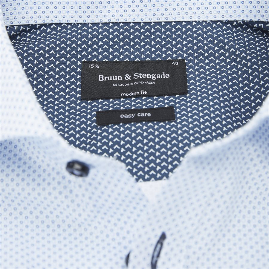 JOSEPHSEN - Josephsen Skjorte - Skjorter - Modern fit - BLÅ - 3