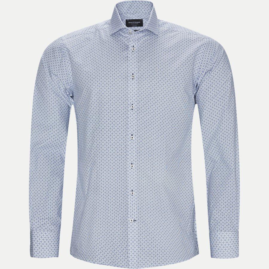 MATA - Mata Skjorte - Skjorter - Modern fit - BLÅ - 1