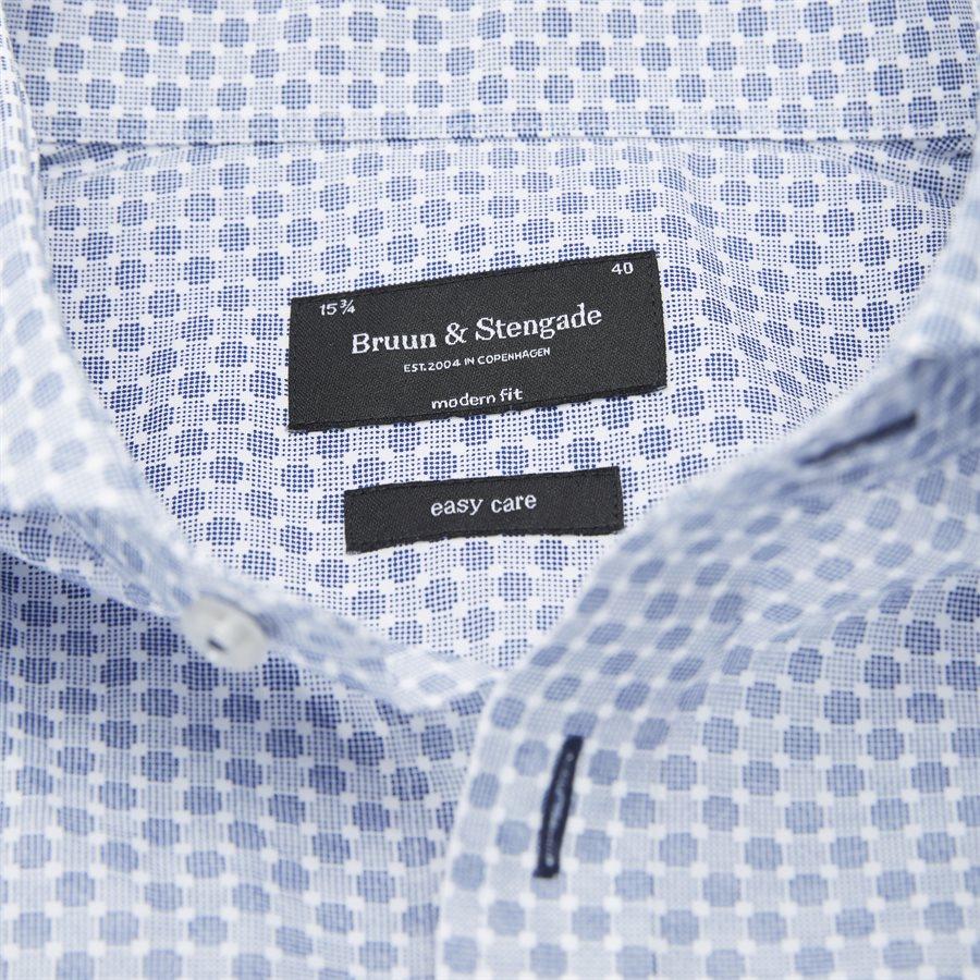 MATA - Mata Skjorte - Skjorter - Modern fit - BLÅ - 3
