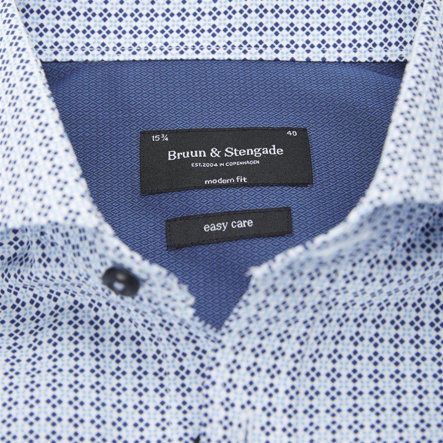 PJANIC - Pjanic Skjorte - Skjorter - Modern fit - BLÅ - 3