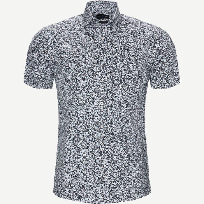 Dikamona Skjorte - Kortærmede skjorter - Modern fit - Blå