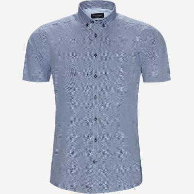 Gandze Skjorte Modern fit | Gandze Skjorte | Blå