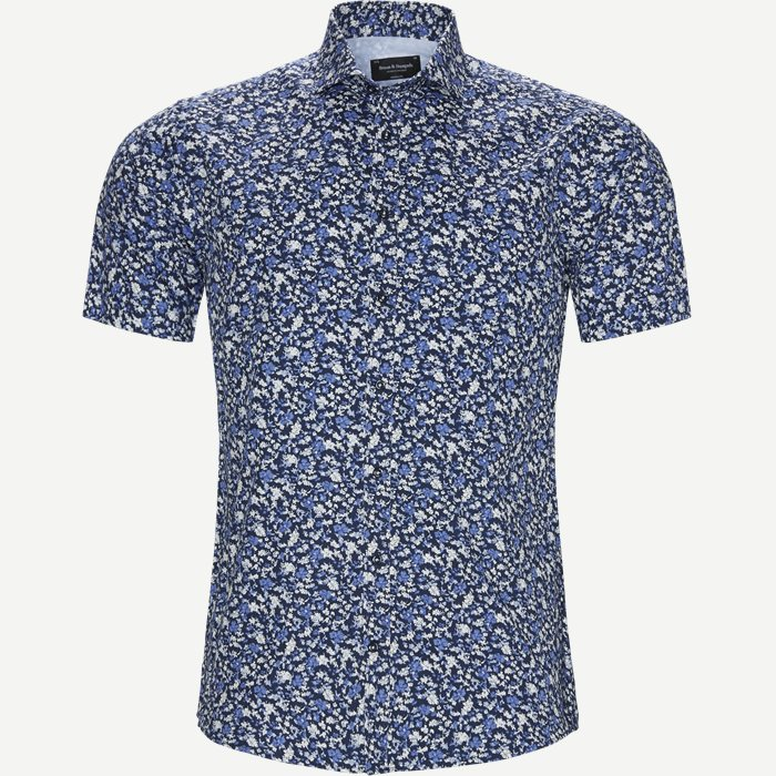 Linganzi Skjorte - Kortærmede skjorter - Modern fit - Blå