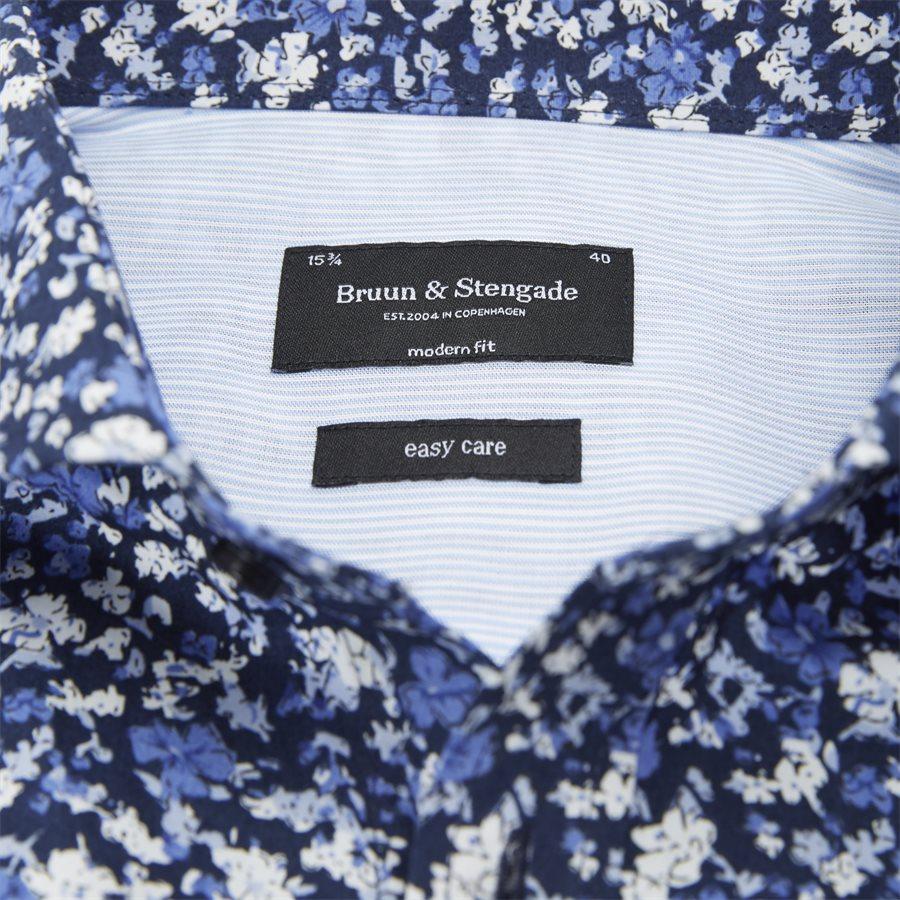 LINGANZI - Linganzi Skjorte - Skjorter - Modern fit - NAVY - 3