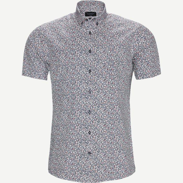 Nganga Skjorte - Kortærmede skjorter - Modern fit - Blå