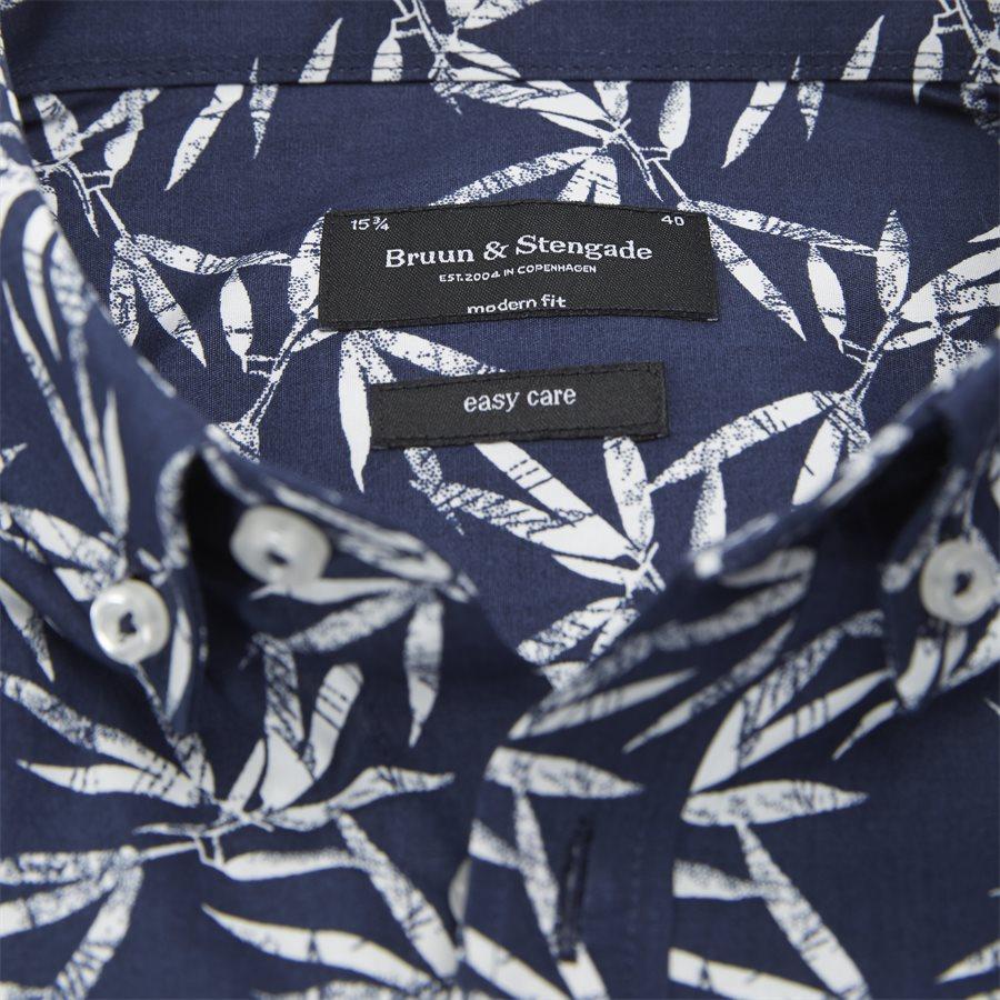 OBASSI - Obassi Skjorte - Skjorter - Modern fit - NAVY - 3