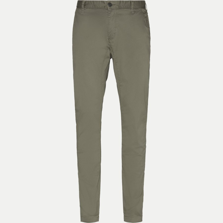 FLASH - Flash Chinos - Bukser - Slim - ARMY - 1