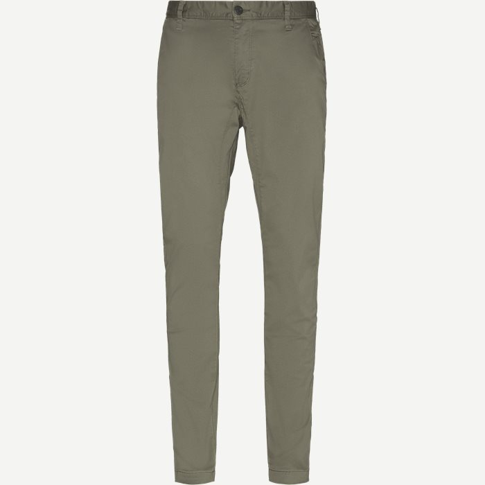 Flash Chinos - Bukser - Slim - Army
