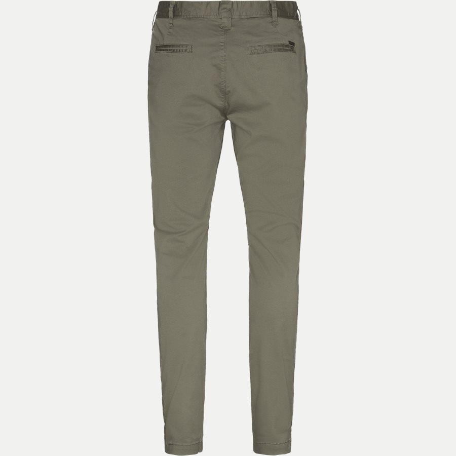 FLASH - Flash Chinos - Bukser - Slim - ARMY - 2