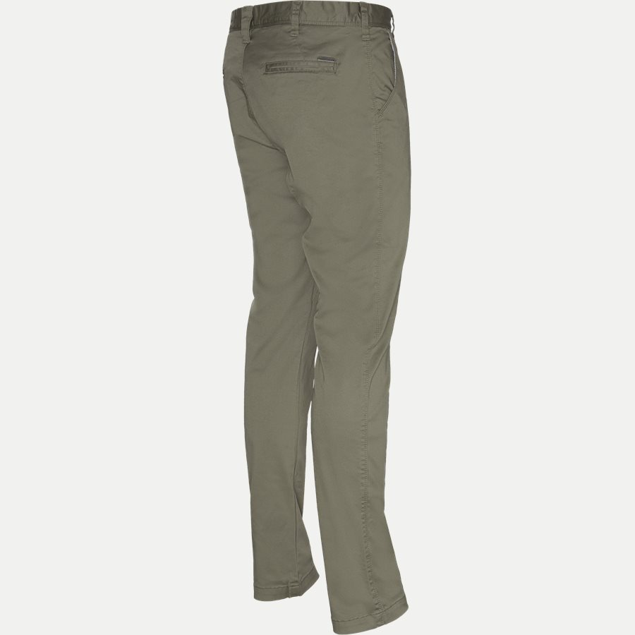 FLASH - Flash Chinos - Bukser - Slim - ARMY - 3