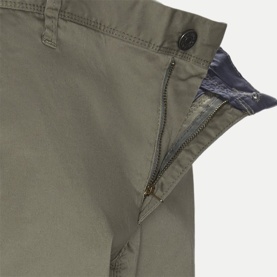 FLASH - Flash Chinos - Bukser - Slim - ARMY - 4