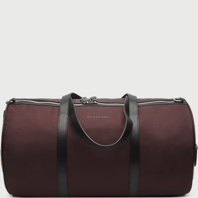 Medium Barrel Holdall Nylon Vintage Check Mix Bag Medium Barrel Holdall Nylon Vintage Check Mix Bag | Bordeaux
