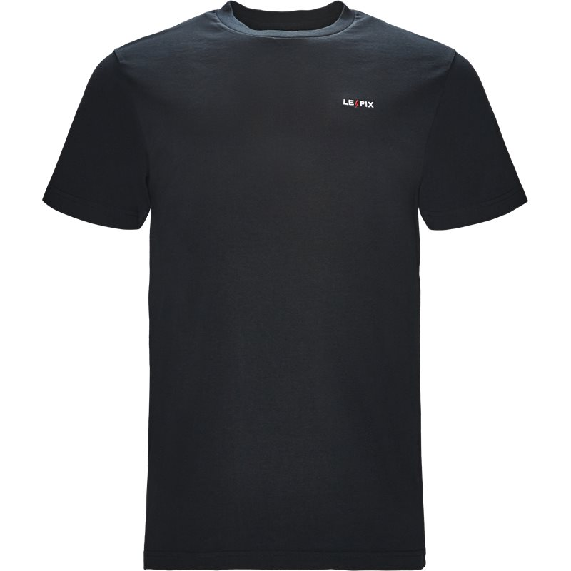 Le fix lf embroidery tee navy fra le fix fra quint.dk